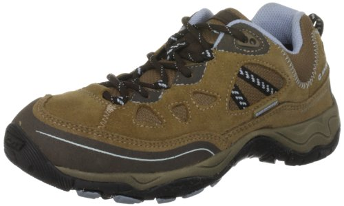 Hi-Tec Hi-Tec Total Terrain Lace Wp Womens O001411/043/01, Damen Sportschuhe - Wandern, Gold (Honey/Dark Brown/Blue), 39 EU / 6 UK