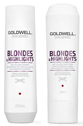 Goldwell Dualsenses Blondes & Highlights Set (Shampoo + Conditioner)