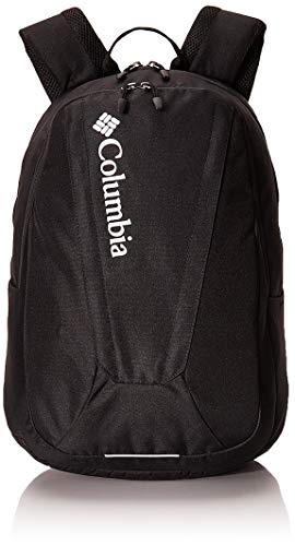 Columbia Unisex Tamolitch II Daypack Laptop School Student Backpack (Black/black/white)