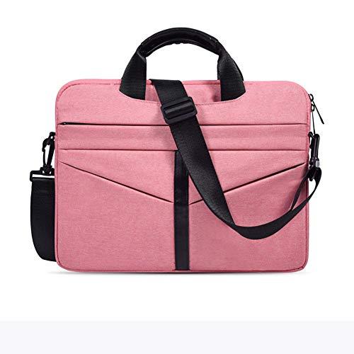 ZH Laptop Tote Bag for Women 15.6 Inch Waterproof Lightweight Leather Computer Laptop Bag Women Business Office Work Bag Briefcase Large Travel Handbag Shoulder