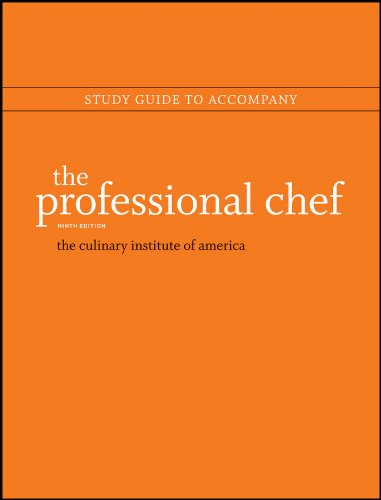 Study Guide to Accompany the Professional Chef, 9e