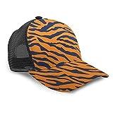 Oaieltj Gorra de béisbol unisex para hombre y mujer, gorra de béisbol ajustable, sombrero de papá casual, Tiger Print Animal Print Cool - Estampado de animales, Talla única