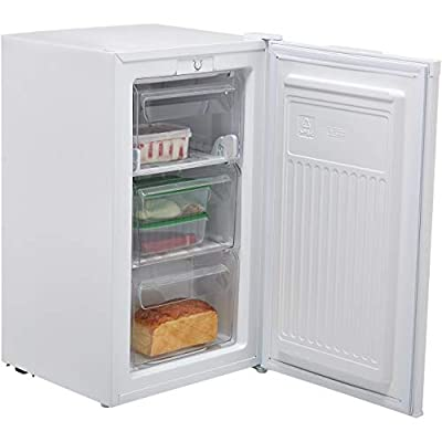 Fridgemaster Hisense MUZ4965M 65 Litre Freestanding Under Counter Freezer A+ Energy Rating 50cm Wide - White