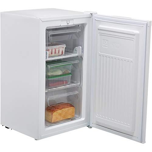 Fridgemaster Hisense MUZ4965M 65 Litre Freestanding Under Counter Freezer A+ Energy Rating 50cm Wide - White