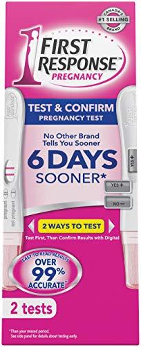 première réponse, première réponse de test et Confirmer 2S, 2.0fils