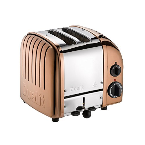 Dualit 27390 Classic New Gen Vario 2 Toaster, kupfer