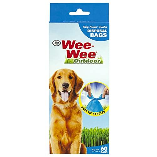Four Paws Produits Bio pour chien Sac Doo Lime 60 Comptage - 01816