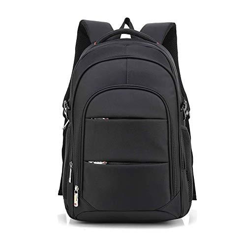 OUK-BT Laptop Rucksack 15.6 Zoll Reise Schwerlast Wasserdicht Laptop Daypack Multifunktion Business Notebook Taschen Schulrucksack mit USB Ladeanschluss, Schwarz (15.6 Zoll)