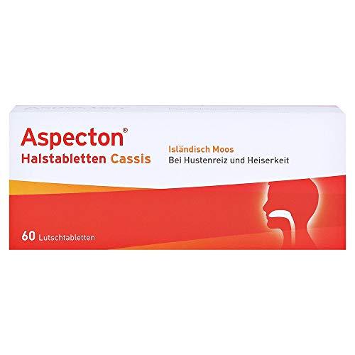 Aspecton ASPECTON Halstabletten Cassis Lutschtabletten - 60 St Lutschtabletten 0