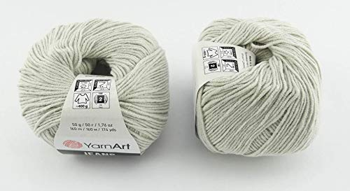 YarnArt Jeans Garn Baumwollgarn Amigurumi Babygarn Wolle 50g Yarn Art 160m/50g (49)