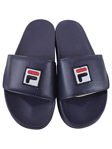 Fila Men's Drifter Strap Sandals (12 D(M) US, Fila Navy, Fila Red, Fila Cream)