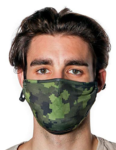 FYDELITY-Face Mask|Breathable Adjustable Comfortable Reusable Fabric|Camo
