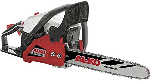 AL-KO Benzin-Kettensäge BKS 3835 (1.2 kW Motorleistung, 37.2 ccm Hubraum 2-Takt, 35 cm Schwertlänge, automatische Kettenschmierung, orig. Oregon Schwert und Kette)