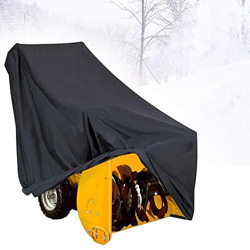 Almabner Schneefräse, zweistufige Abdeckung, universal, staubdicht, staubdicht, staubdicht, für Schnee, Nicht Null, Schwarz, Free Size