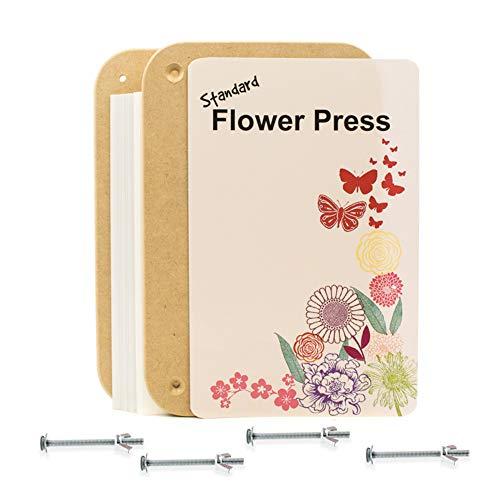 17.5cm x 27.5cm Rectangular Wooden Flower Press