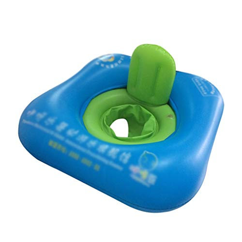 Luftmatratze Pool Schwimmen Ring Blau Kindersitz Verdickung Baby Achseln Rettungsring 1-4 Jahre Alte Mode Sicherheit Kreative Rückenlehne