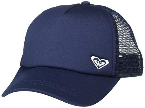 Roxy Women's Finishline Trucker Hat, Dress Blues, 1 SZ