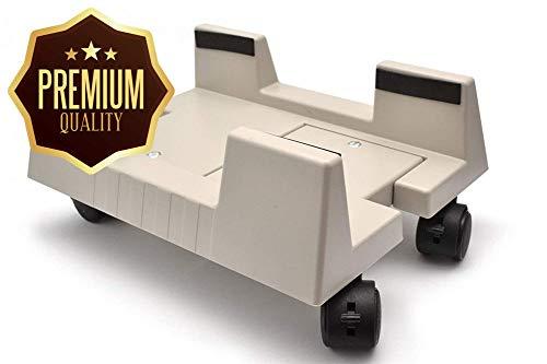 Generic Ivel Wheels Trolley mit G Schwenkrädern, mobiler PC, Computer, mit Verriegelung, Drehgelenk, ND/T Ständer, Omputer, ST-Räder