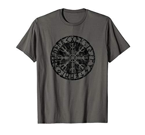 Aegishjalmur Helm of Awe viking Symbol Wikinger Rune T-Shirt