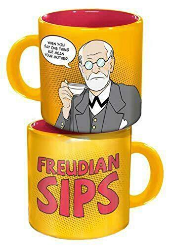 Unemployed Philosophers Guild 13655 Freud - Taza de café, diseño con Texto en alemán