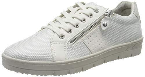 Tamaris Damen 1-1-23605-24 Sneaker, Weiß (White Comb 197), 38 EU