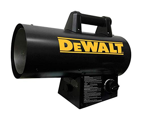 DeWalt 60000 BTU/hr. 1500 sq. ft. Forced Air Propane Portable Heater - Case of: 1