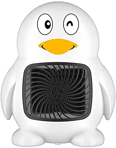 LLRZ Riscaldatore Riscaldatore Elettrico Desktop, Ventola riscaldante for Riscaldamento in Ceramica con 2 impostazioni di Calore, Riscaldamento Domestico più Caldo Termoventilatore