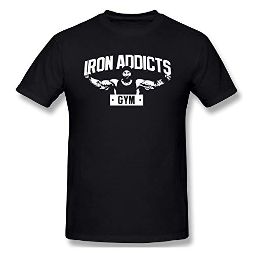 Slotley Men's CT Fletcher Cotton T-Shirt XL Black