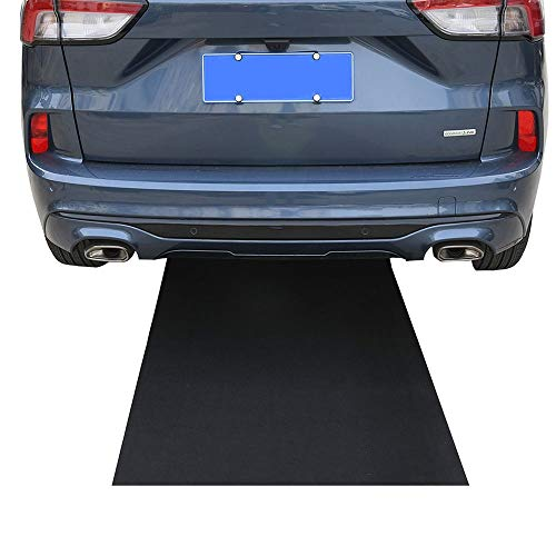 AiBOB Oil Spill Mat, 36 X 60 inches, Absorbent Oil Pad, Protects Garage Floor, Durable, Reusable, Waterproof, Black