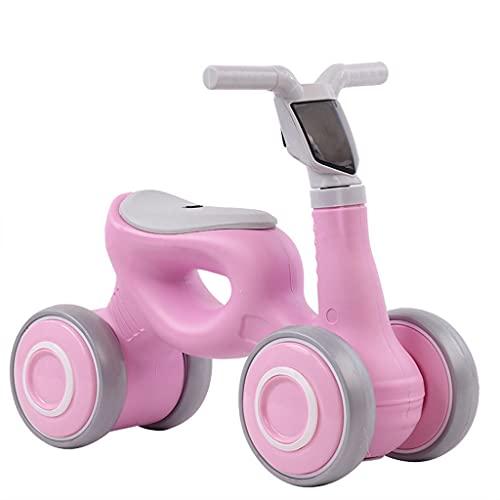 Baby Balance Bike Mini Bike Baby Walker Bicicleta De Equilibrio Sin Pedales para Niños Y Niñas De 6 A 36 Meses Primera Bicicleta Regalo De Cumpleaños para Niños Pequeños (Color : Pink)