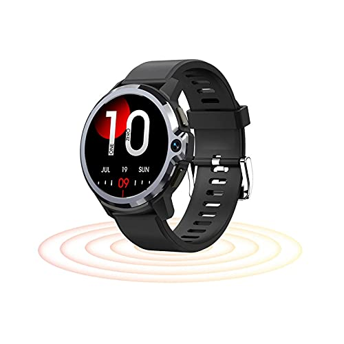 JXFF 1G 16G Smart Watch, Ritmo Cardíaco para Hombres Y Presión Arterial, Cámara De Modo Dual, Reloj Inteligente, Bluetooth GPS 4G IP67 IP67 A Prueba De Agua Android iOS