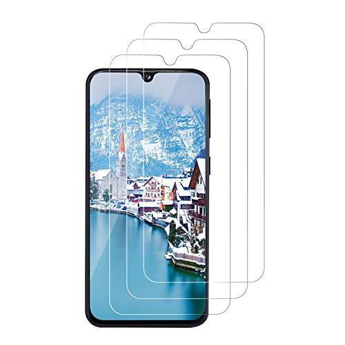[3 Stück] Panzerglas Schutzfolie für Samsung Galaxy A40, 9H Härte, HD Klar, Blasenfrei, Anti-Kratze Glas, Anti-Staub, 2.5D Runde Kante, Gehärtetem Glas Displayschutzfolie für Samsung A40 - Transparent