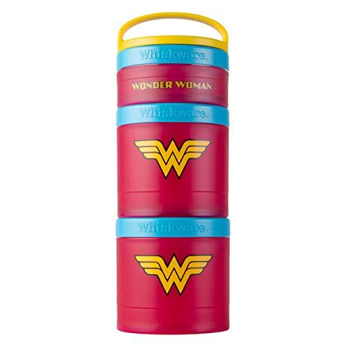 Whiskware Pacote de lanches empilháveis da Liga da Justiça, Mulher Maravilha