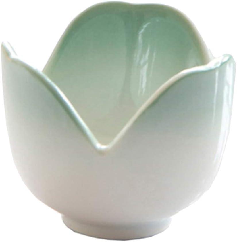 LOVIVER Ceramic Egg Holder Cup In a popularity Boiled Flower mart Creative Shape