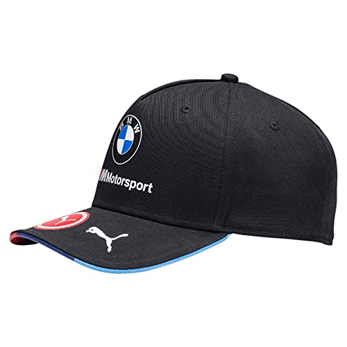 PUMA BMW Replica Team Cap, Unisex Erwachsene, Schwarz, Einheitsgröße
