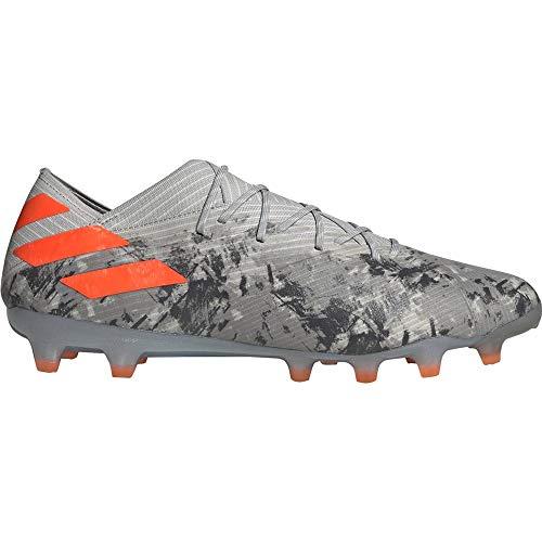 Adidas Nemeziz 19,1 Ag Voetbalschoenen, heren, rood/zilver