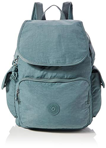 Kipling City Pack - Zaini Donna, Verde (Light Aloe), 32x37x18.5 cm