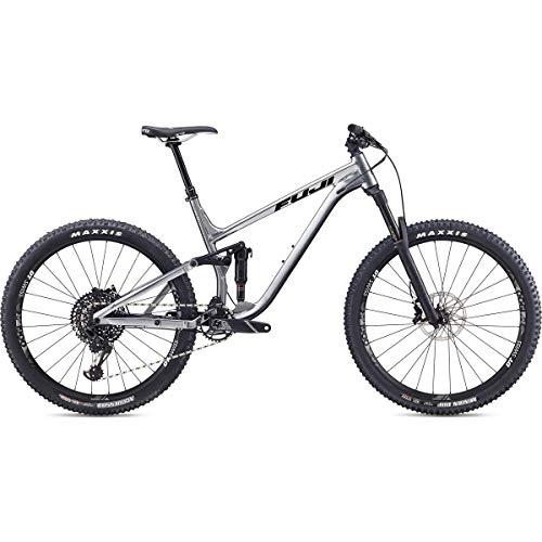 Fuji Auric 27.5 1.1 Vollgefedertes Fahrrad 2019, 48 cm, 27,5 Zoll (650b), silberfarben