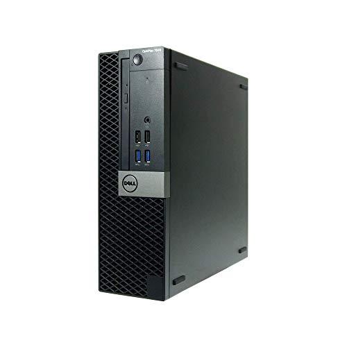 Dell OptiPlex 7040 SFF Desktop (Intel Core i7 3.4 GHz, 16 GB RAM, 256 GB SSD, Intel HD Graphics 530, Windows 10 Pro) (Renewed)