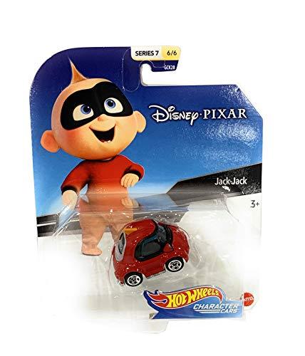 Hot Wheels Disnery Pixar Character Cars Series 7-1/64 Scale Jack-Jack Vehicle(6/6)