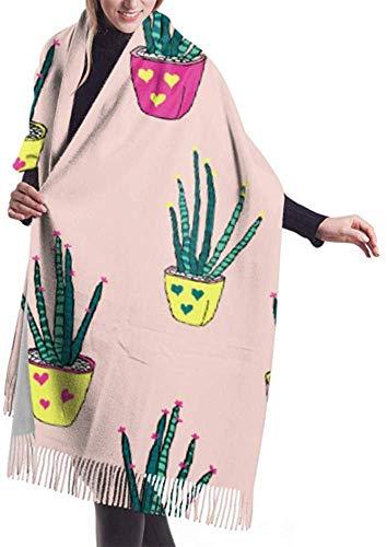 xianjing6 Shawl Wrap Blanket Scarf Womens Winter Scarf Cashmere Feel Cute Aloe...