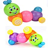 Lovely Colorful Caterpillar Wind-up Toys Kids Baby Developmental Educational Toy,Perfect Child Intellectual Toy Gift Set