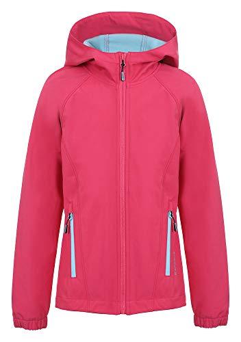 ICEPEAK Mädchen Kensett Softshell Jacke, pink, 152
