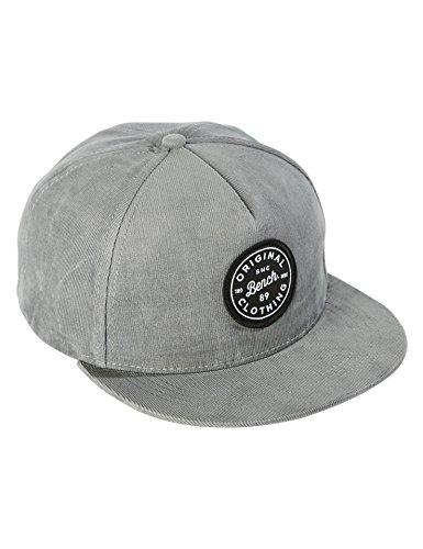 Bench Herren Interest Fabric Baseball Cap, Grau (Grey GY040), One Size