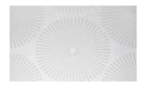 Patent Decor 3D Tapete in weiß (zum Überstreichen) (Nr. 6009-3306)