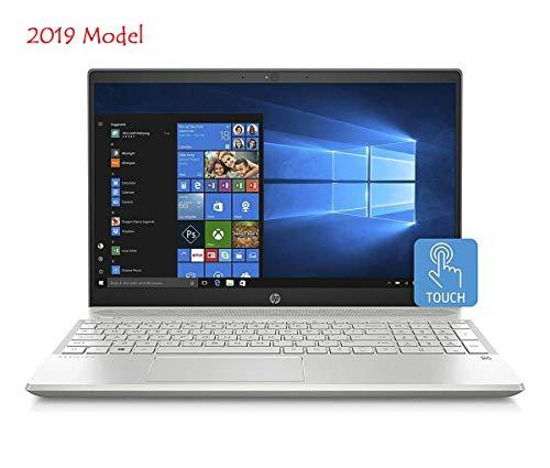 "HP 15-CS00 Slim Touchscreen Laptop in Silver 8th Gen Intel i7 up to 4 GHz 24GB (16GB Optane + 8GB DDR4 RAM) 1TB HDD 15.6"" Full HD B&O Play WiFi (Renewed)"