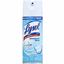 Lysol Disinfectant Spray, Crisp Linen, 12.5oz