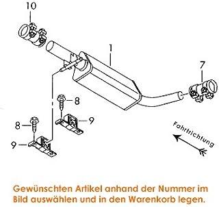 Suchergebnis Auf Für Schalldämpfer Volkswagen Schalldämpfer Auspuff Abgasanlagen Auto Motorrad