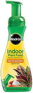 Miracle-Gro 100055 Indoor Plant Food, 1-1-1, Ready To Use, 8 Ounce
