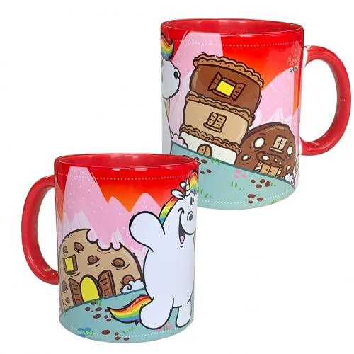 Pummel & Friends - Tasse (rot) - Pummel & Norbert (Keksen)